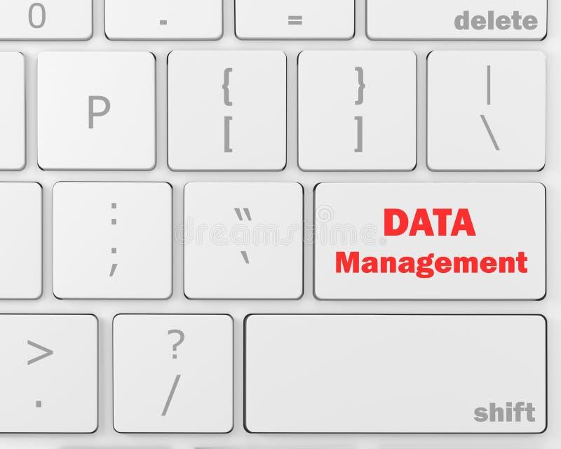 Gestão de dados ilustração stock