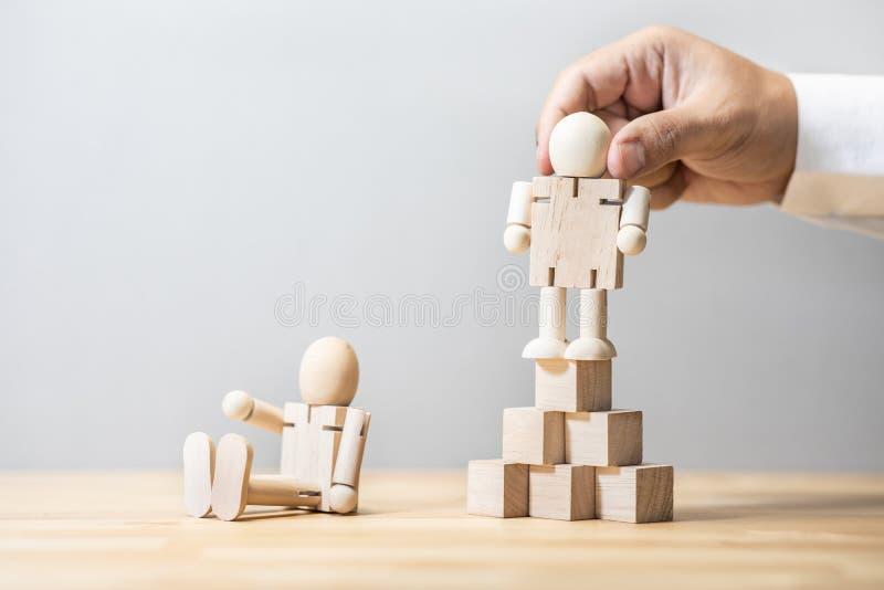 Gestão de empresas ou conceitos de recursos humanos liderança dos trabalhadores desempenho da equipe fotografia de stock