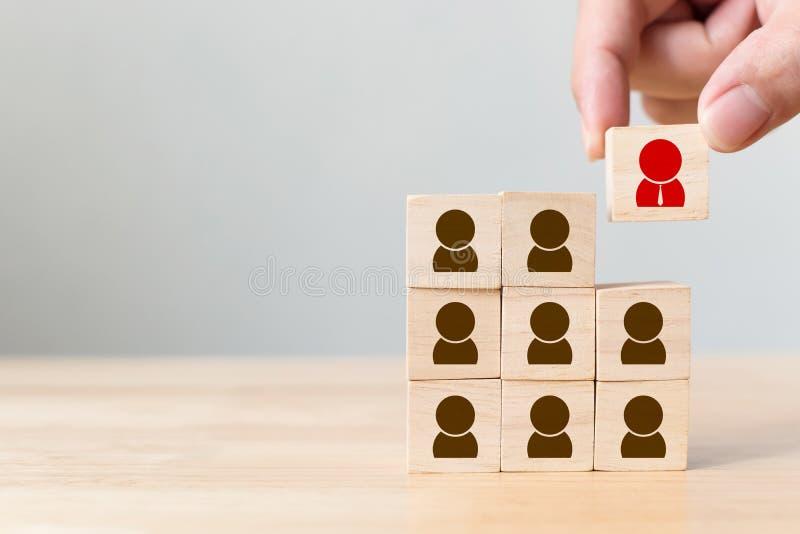 Gestão de recursos humanos e conceito do negócio do recrutamento imagem de stock