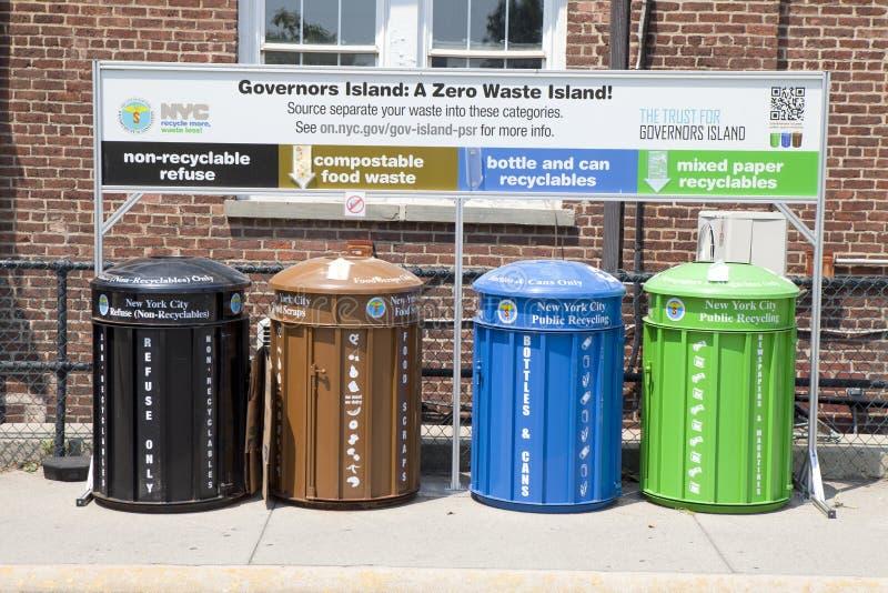 Gestão de resíduos e reciclagem fotografia de stock royalty free