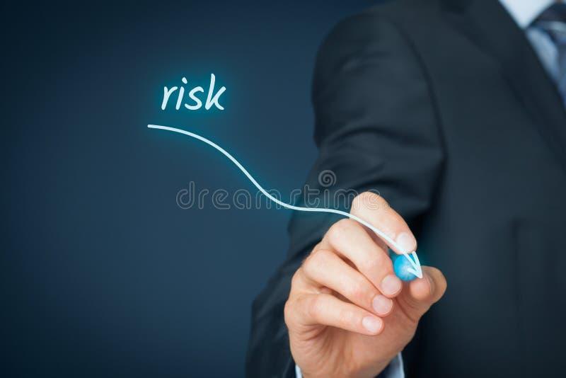 Gestão de riscos fotografia de stock