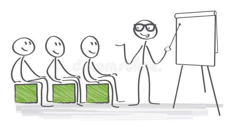 Gestão de tempo ilustração stock