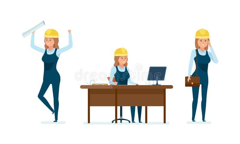 Gestão do projeto, propostas do trabalho, cooperação bem sucedida, liderança, trabalho com clientes ilustração stock