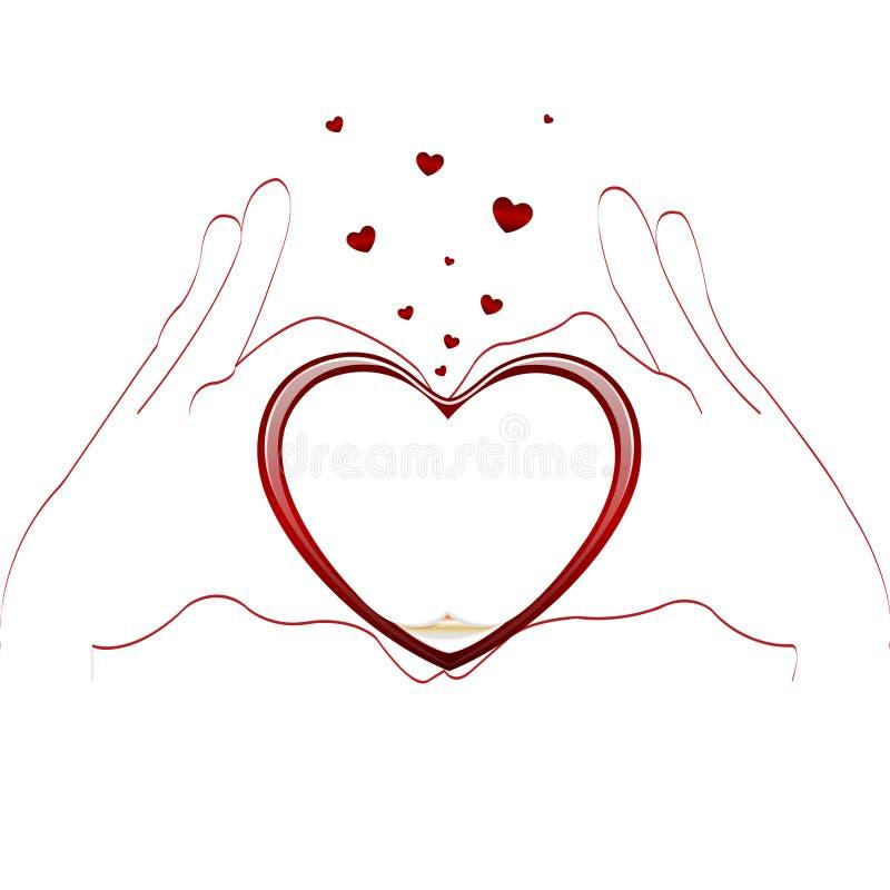 gestów miłości typ ilustracji