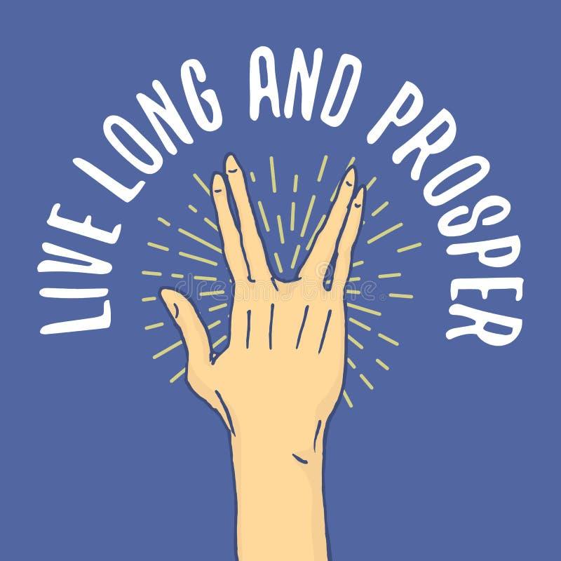 Gest ręki zatrzymują, dotykają pointeru i one modlą się, palma, aprobaty, ok, jak lub uścisk dłoni, pięść, pokój i skały n rolka, royalty ilustracja
