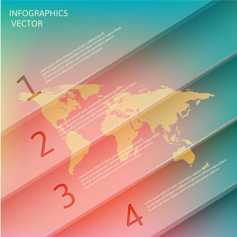 Gestaltungselement für infographics vektor abbildung