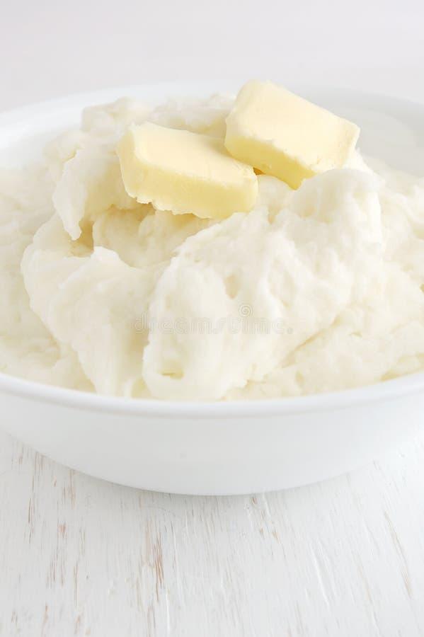 Gestampfte Kartoffeln lizenzfreies stockfoto