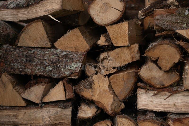 Gestapelde houtsnede royalty-vrije stock afbeelding