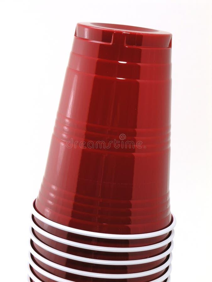 Gestapelte Cup 2 Stockfoto