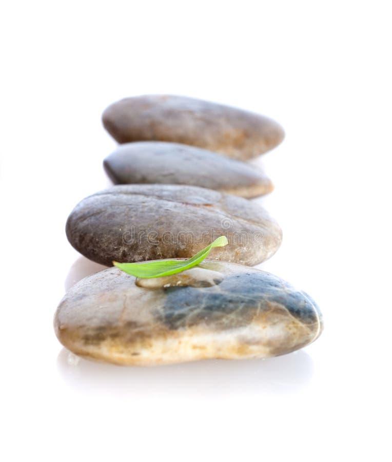 Gestapelte Steine stockfoto