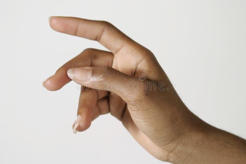 Geste de main photos libres de droits