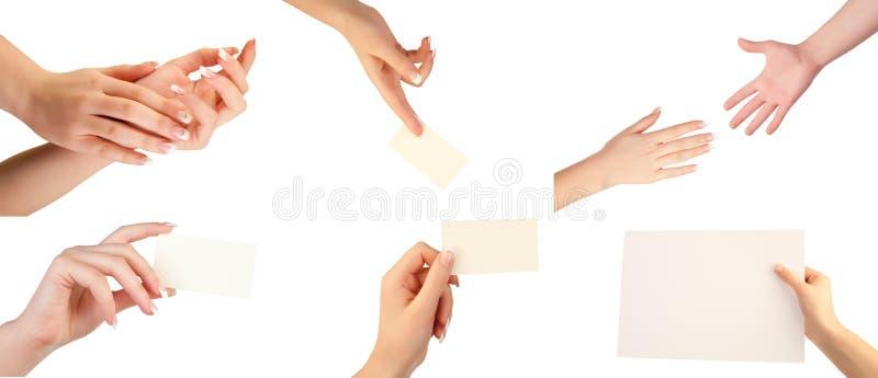 gester hand seten arkivbild