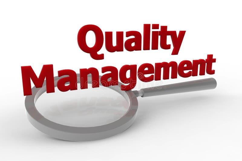 Gestión - calidad stock de ilustración