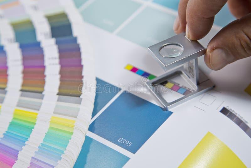 Gestión de color fotos de archivo