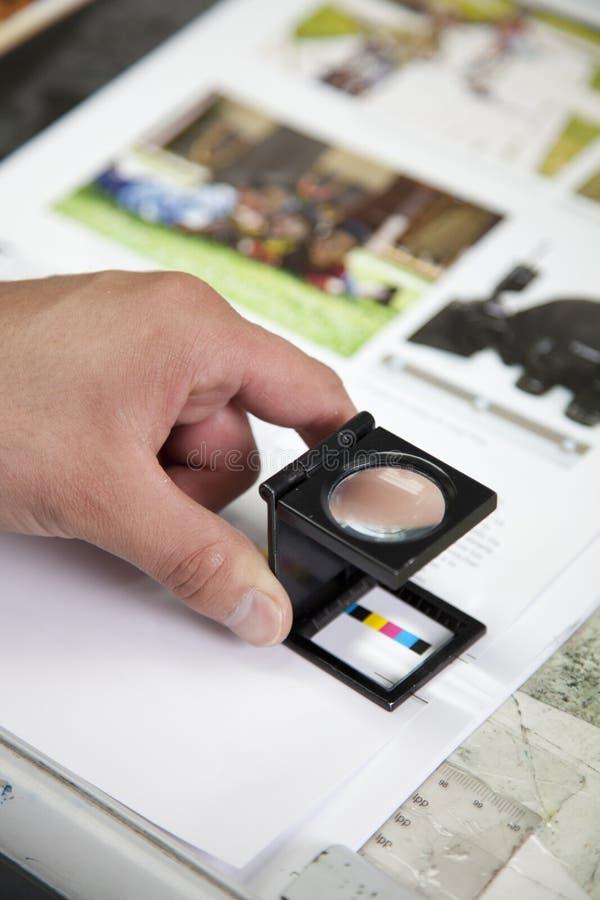 Gestión de color foto de archivo