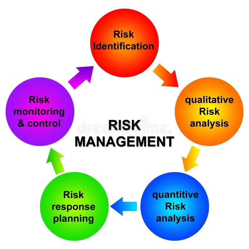 Gestión de riesgos ilustración del vector