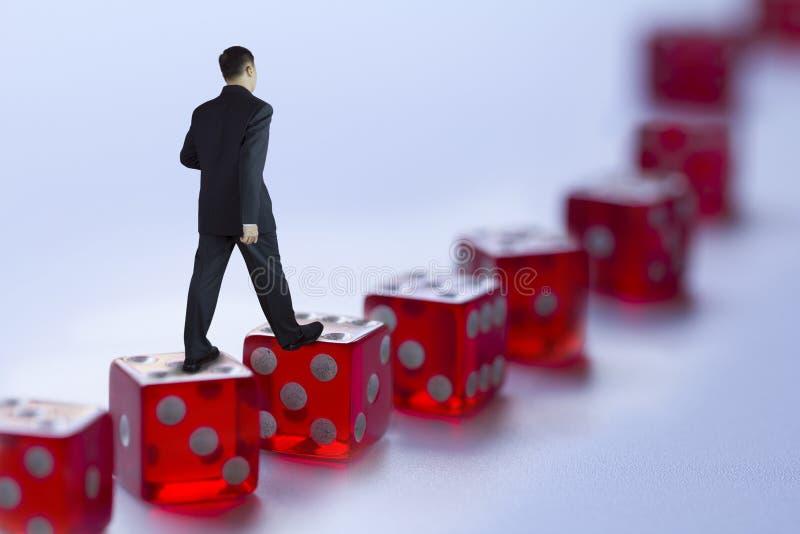 Gestión de riesgos del negocio imagen de archivo libre de regalías