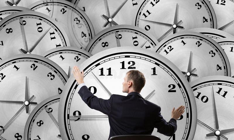 Gestión de tiempo como concepto imagen de archivo libre de regalías