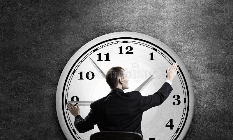 Gestión de tiempo como concepto fotos de archivo libres de regalías
