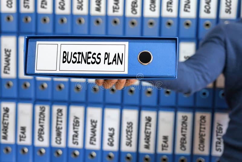 Gestión del plan empresarial, concepto de la estrategia, fotos de archivo libres de regalías