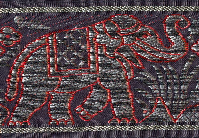 Gestickter Elefant lizenzfreies stockfoto