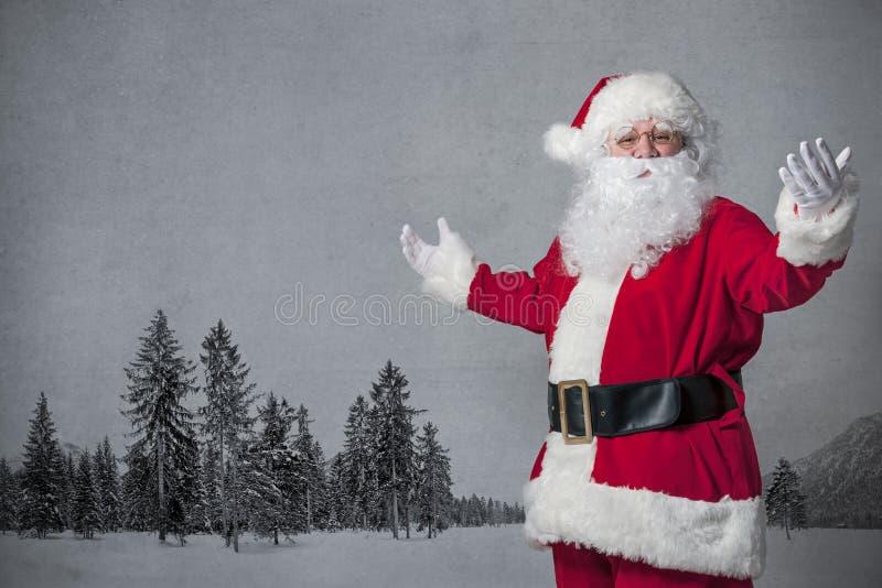 Gesticular de Santa Claus fotos de stock