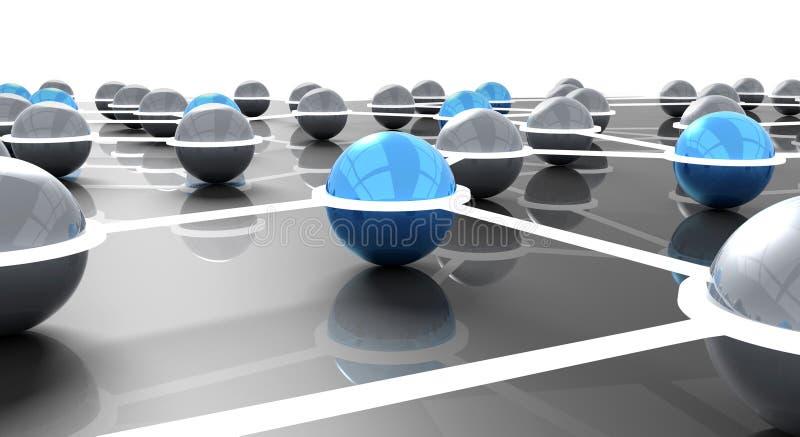 gestion de réseau illustration libre de droits