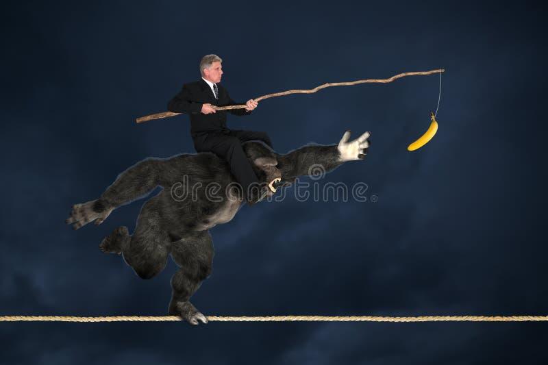 Gestion de risque commercial photo libre de droits
