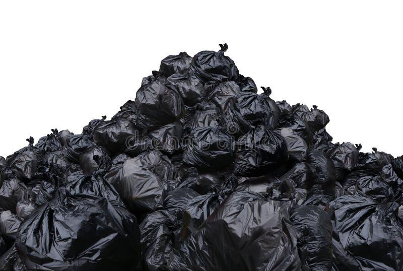 Gestion des déchets environnementale de décharge de déchets illustration de vecteur