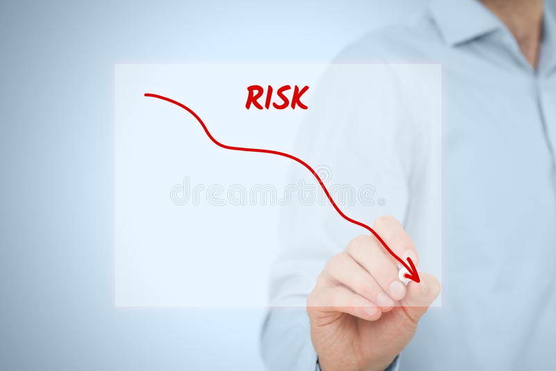 Gestion des risques photo stock