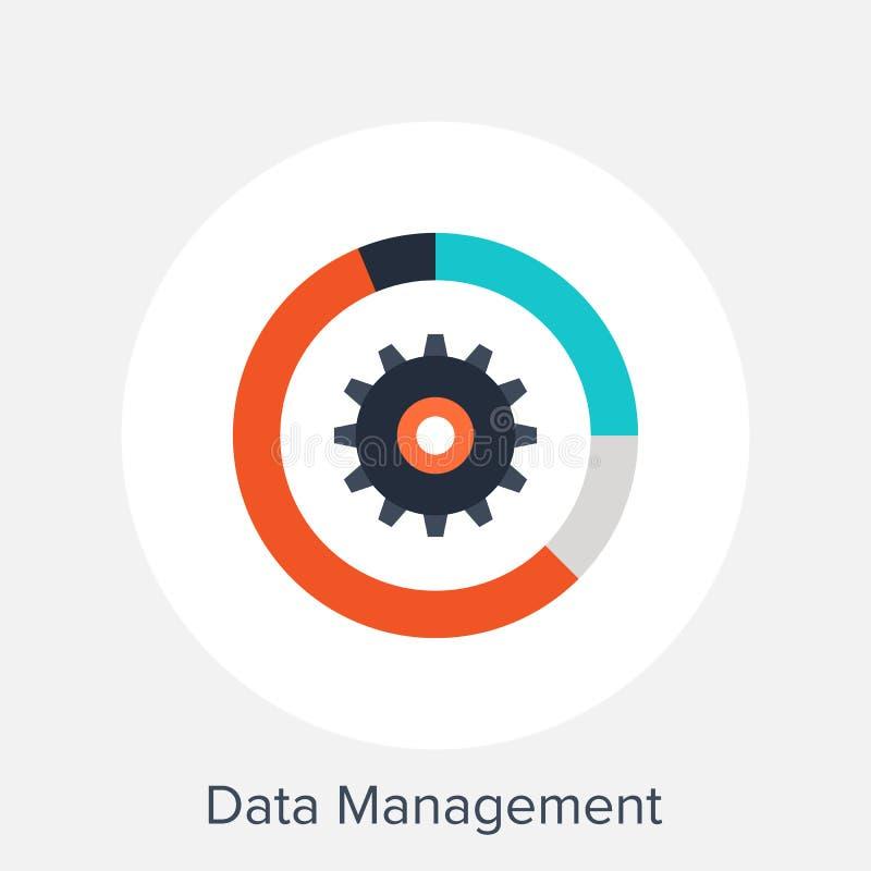 Gestione dei dati illustrazione di stock