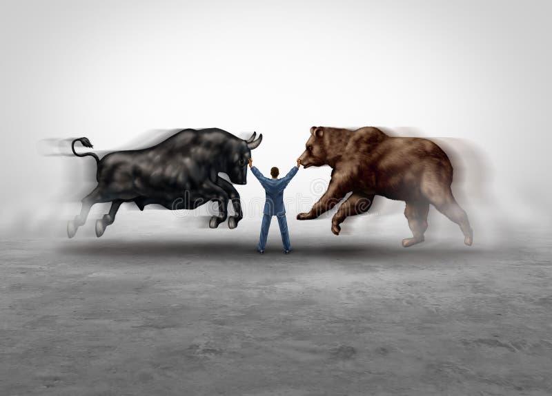 Gestione del mercato azionario illustrazione vettoriale
