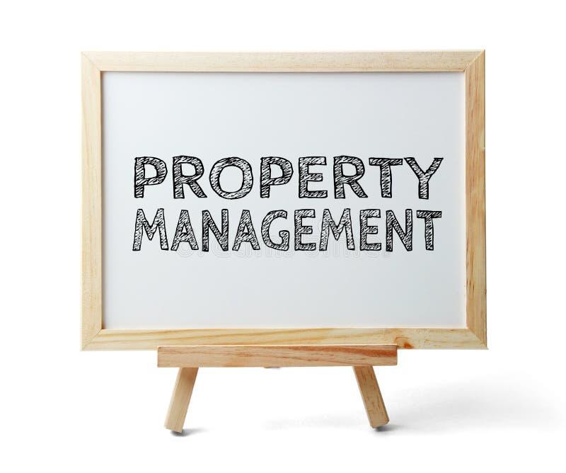Gestione della proprietà immagine stock libera da diritti