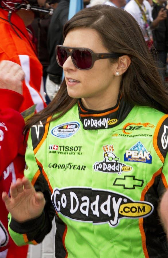 Gestionnaire Danica Patrick de NASCAR photographie stock libre de droits