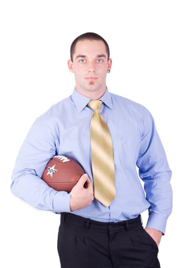Gestionnaire de football américain image stock