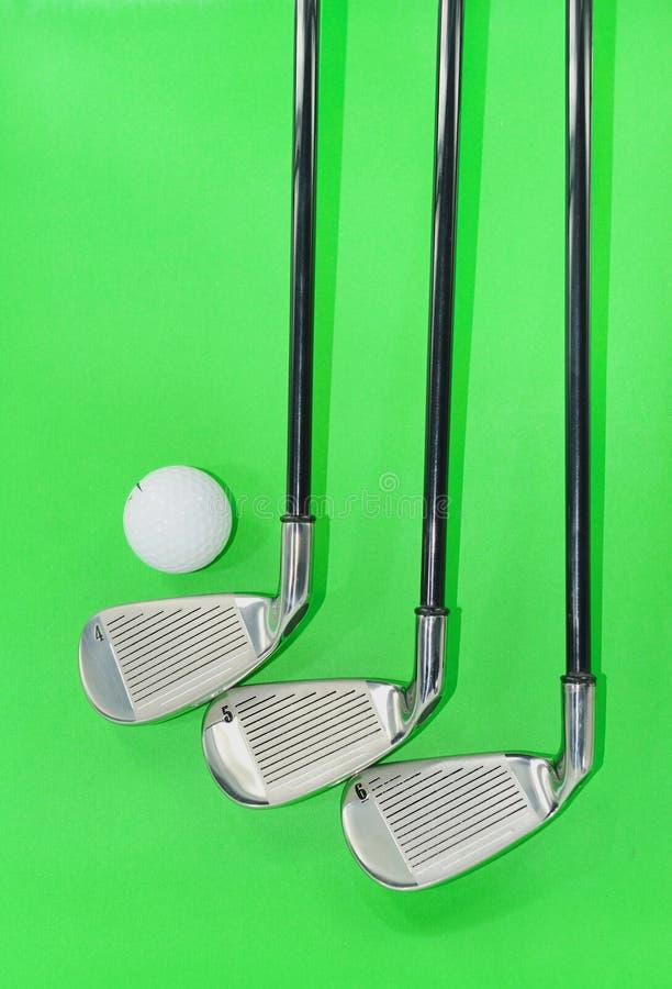 Gestionnaire de golf en métal photographie stock