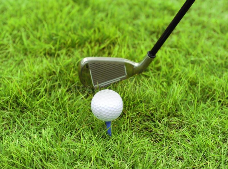 Gestionnaire de golf en métal photo stock