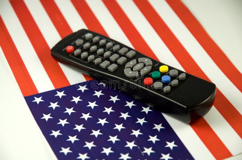 Gestionnaire de TV photographie stock libre de droits