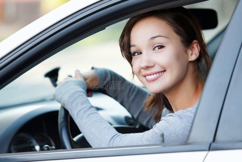Gestionnaire féminin de sourire photo stock