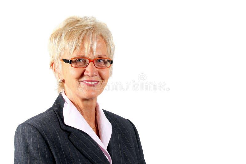 gestionnaire féminin mûr images stock