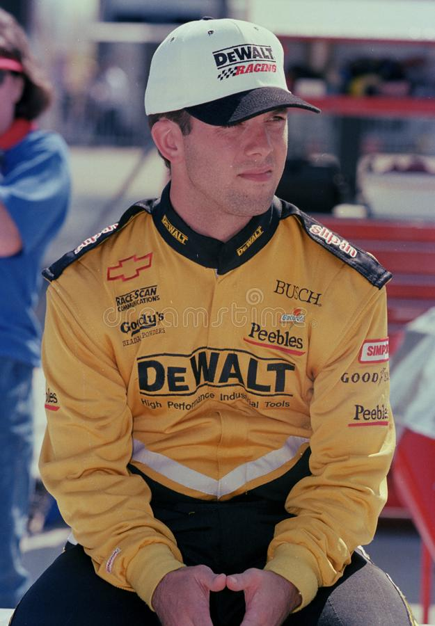 Gestionnaire Matt Kenseth de NASCAR images stock