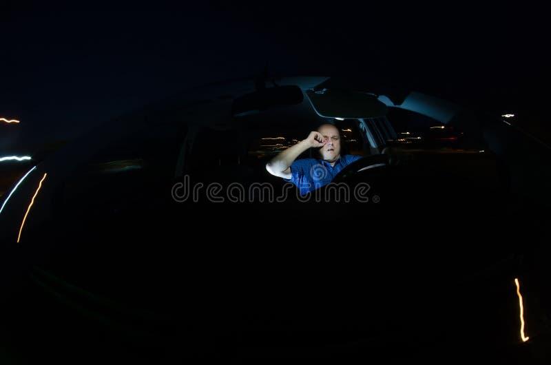 Gestionnaire somnolent photographie stock libre de droits
