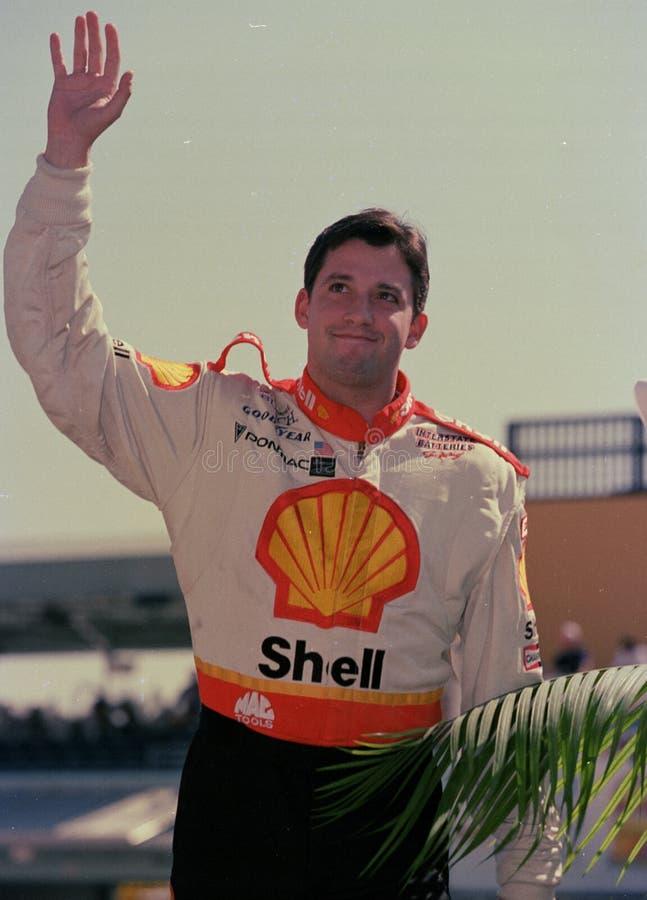 Gestionnaire Stewart ?l?gant de NASCAR photo stock
