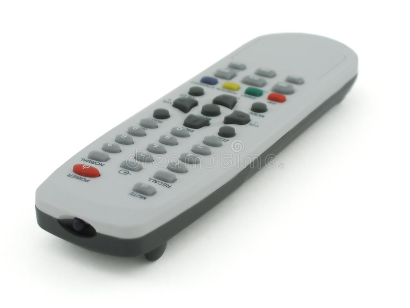 Gestisca la TV fotografie stock libere da diritti