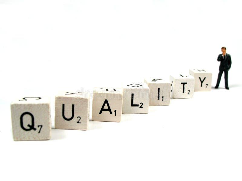 Gestisca la vostra qualità immagini stock