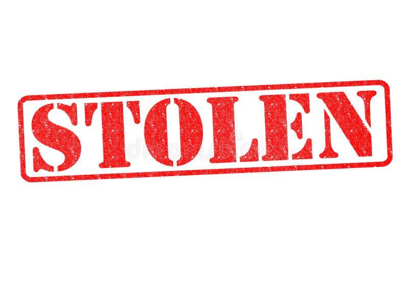 gestolen stock foto