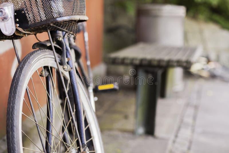 Gestolen fiets stock fotografie