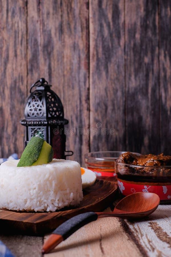 Gestoomde rijst royalty-vrije stock fotografie