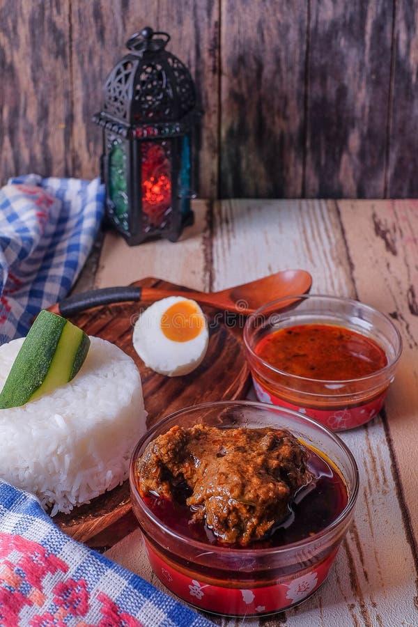 Gestoomde rijst royalty-vrije stock afbeelding