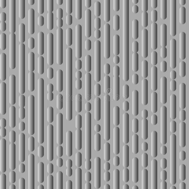 Gestormde lijnentextuur, plastic variant vector illustratie